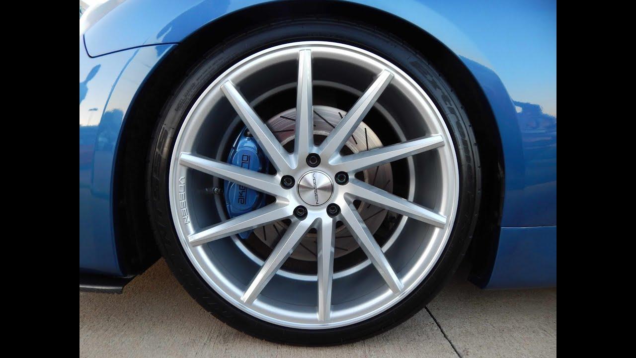 Infiniti G37 On Vossen Cvt Directional Wheels Youtube Tpms Fuse Box