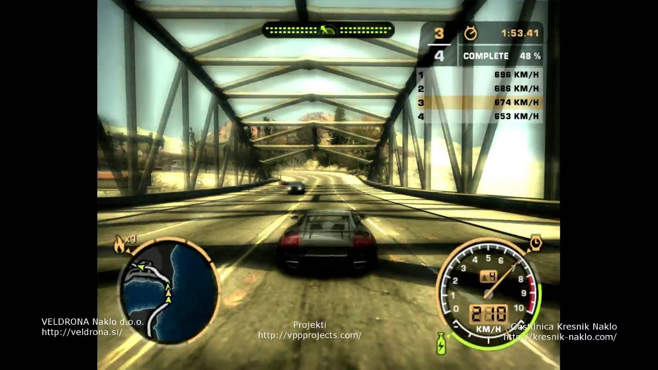 Need For Speed Most Wanted - Blacklist 4 - JV - YouTube