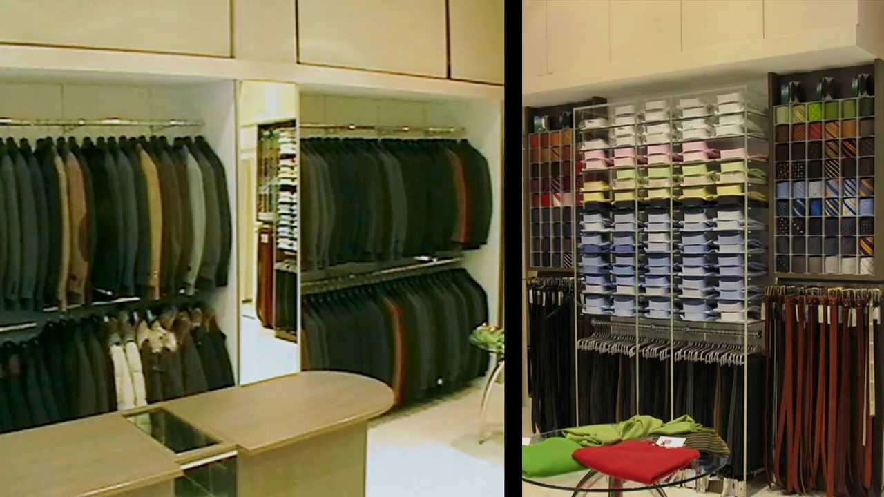 arredamento negozio abbigliamento uomo ekip arredamenti