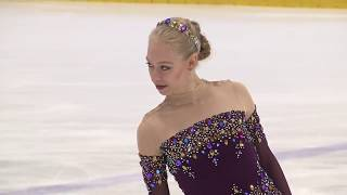 """Bradie Tennell - 2018-2019 FP """"Romeo and Juliet"""""""