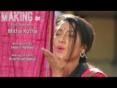 Making Video Of Mitha Kotha || Behind the scene || Savvi Sabarwal