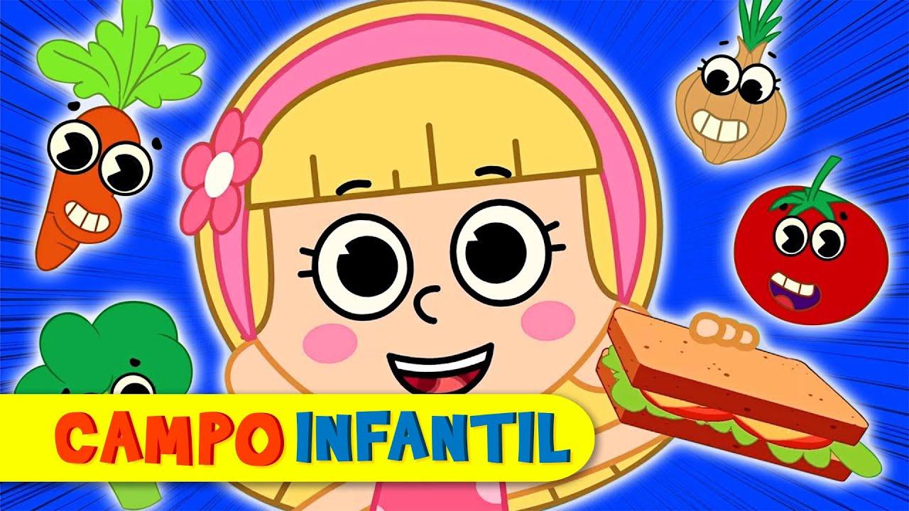 ¿Qué hay en tu sandwich? - Canciones infantiles divertidas | Campo Infantil