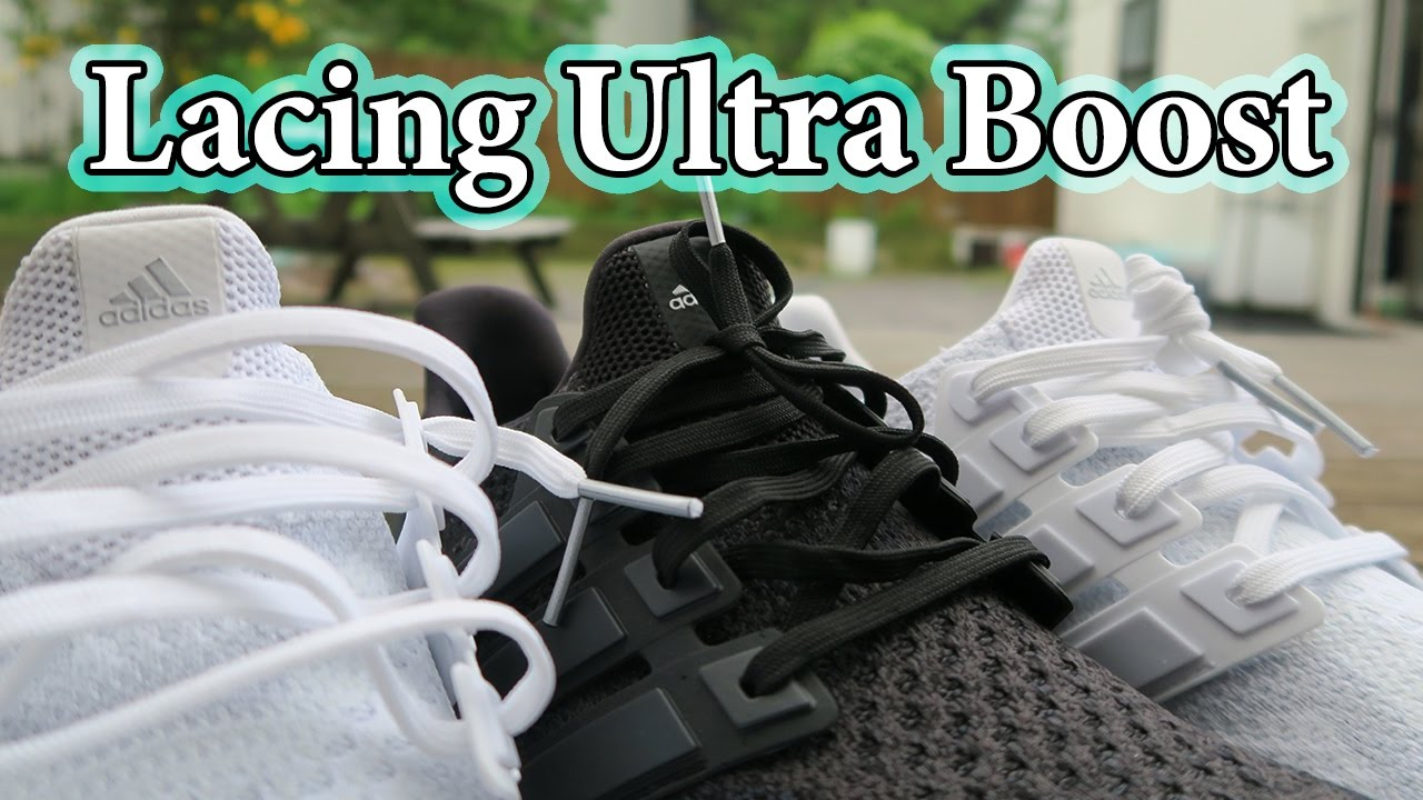 HOW TO LACE Adidas Ultra Boost 2.0