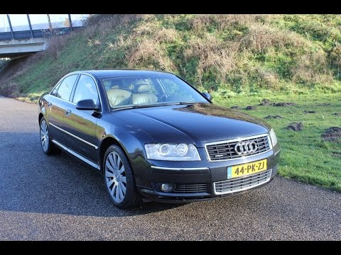 audi a8 4 0 tdi v8 quattro 2004 youtube. Black Bedroom Furniture Sets. Home Design Ideas