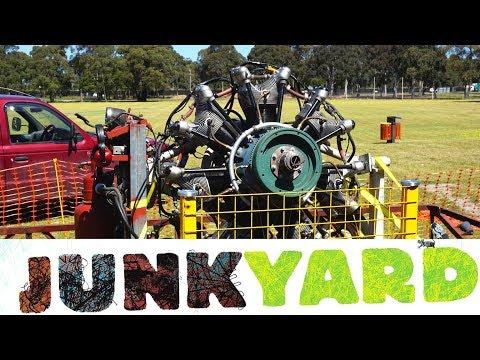 Junkyard Radial Runs Again - Jacobs R-755 Aircraft Engine