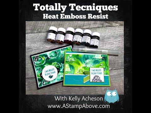 Heat Emboss Resist