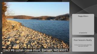 Tract #8 Indian Creek Point, Barnett, MO 65011