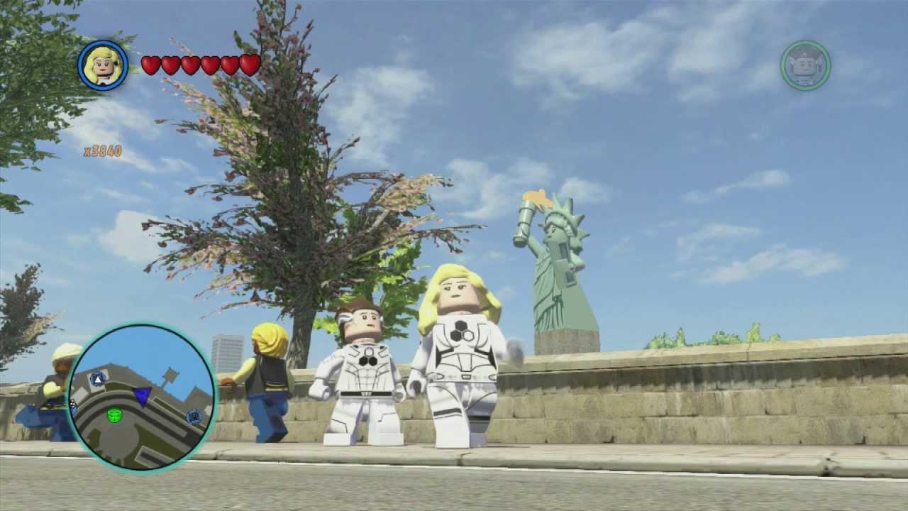 LEGO Marvel Superheroes - Future Foundation Invisible ...