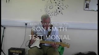 Guitar Lessons Testimonial. Ron Smith. Rocket Music School