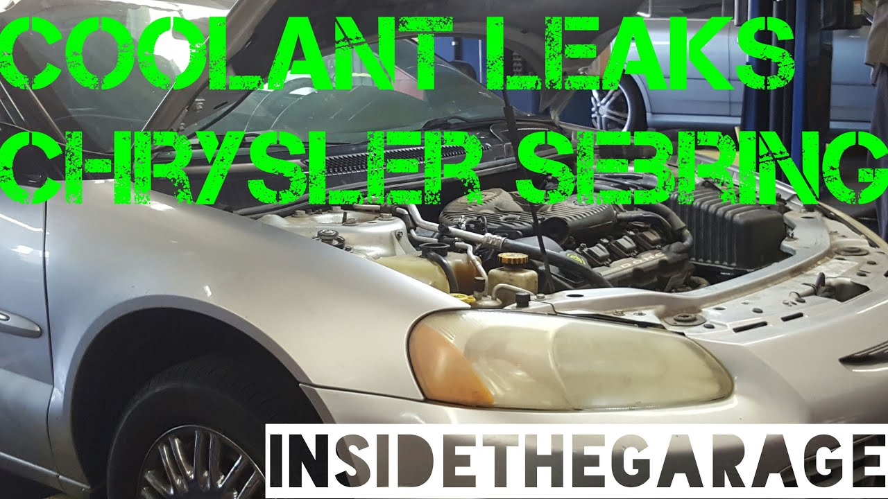 Chrysler Sebring Coolant Outlet Leaks Youtube. Chrysler Sebring Coolant Outlet Leaks. Chrysler. Pump For 2004 Chrysler Sebring Convertible Parts Diagram At Scoala.co