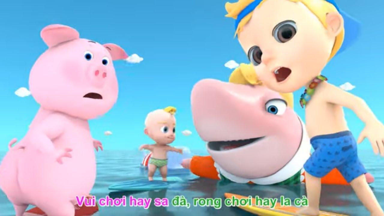 Bống Bống Bang Bang - Hoạt hình 3D bé cá mập - Nhạc Thiếu Nhi vui nhộn