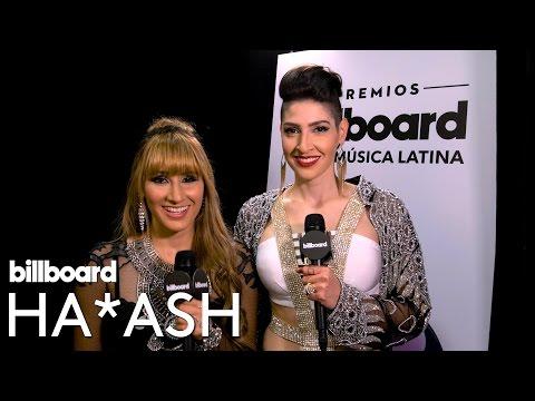Ha*Ash Interview | Backstage at Latin Music Awards 2016