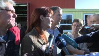 Ministrica obiskala nastanitveni center in Središče ob Dravi