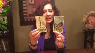In this video I demonstrate card interpretation of the Ace of Wands...