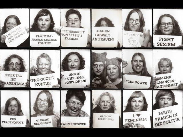 Die Hälfte der Macht den Frauen