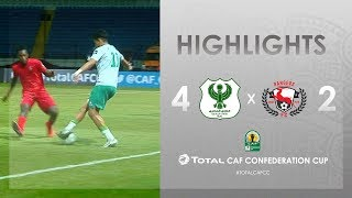 Al-Masry SC 4-2 Rangers Int. FC | HIGHLIGHTS | Match Day 2 | TotalCAFCC