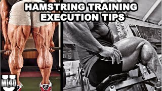 Hamstrings Training Execution Tips | MI40 University - Ben Pakulski