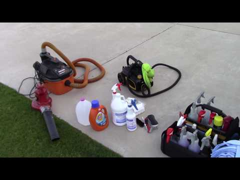 Smoke Removal In A Car - Tools & Chemicals Needed For Amazing Results!