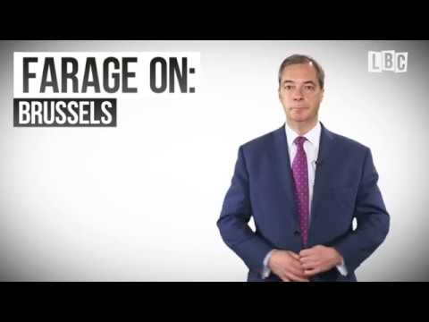 UKIP Nigel Farage LBC Show Advert - The EU & Brussels