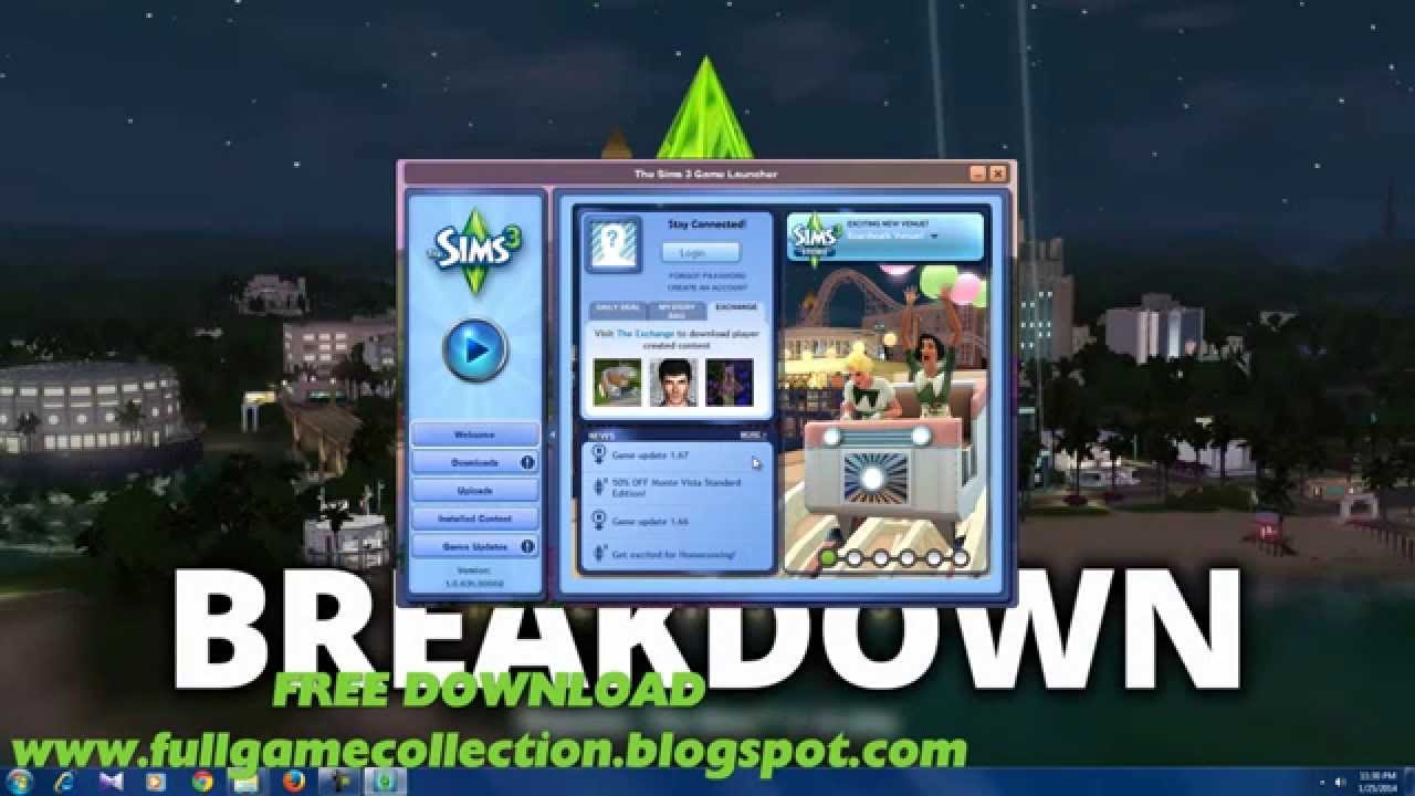 The Sims 3 Roaring Heights - Boardwalk - FREE Download ...