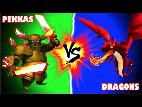Clash of Clans - BATTLE OF THE BEASTS!