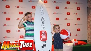 Asistimos a la Fiesta YouTube Space Madrid 📺Vlog. MikelTube