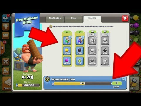 CEPAT MENANG DI CLAN GAME | MEMBER MESTI PRODUKTIF |UPDATE CLASH OF CLANS