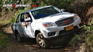 Nueva pick-up 4x4 JAC T6 en Colombia - Prueba en el Parque Aventura Escobero, Envigado
