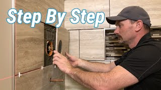 How To Tile A Wall (Shower)