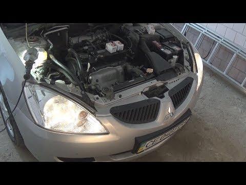 Замена ламп ближнего/дальнего света в Mitsubishi Lancer 9 - Смешные видео приколы