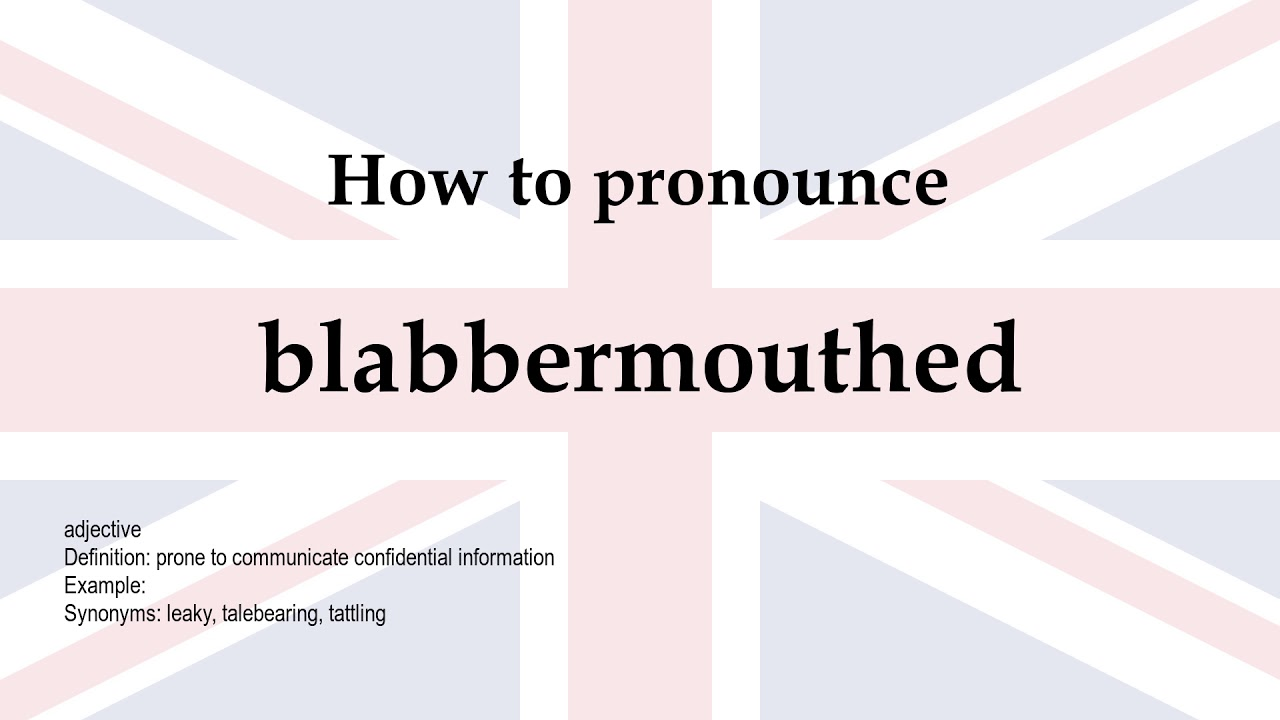 blabbermouthed - YouTube