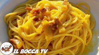 209 - Spaghetti alla carbonara...a finirli si fa a gara! (primo piatto tradizionale facile e veloce)