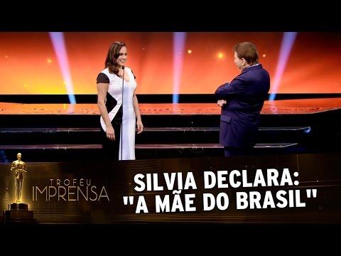 """Troféu Imprensa 2017 - Silvia Abravanel declara: """"A mãe do Brasil"""""""