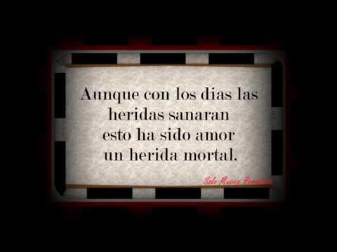 Jerry Rivera-Herida Mortal (Letra)