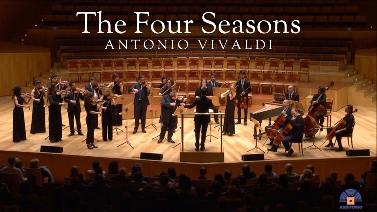 Vivaldi: The Four Seasons (Orquesta Reino de Aragón)