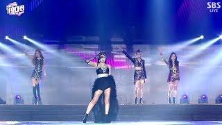 BLACKPINK SOLO INTRO + SOLO - DDU DU DDU DU TRANSITION SBS GAYO DAEJUN 2018