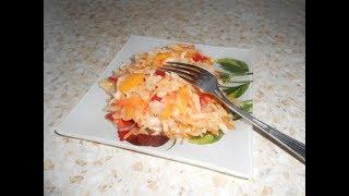 Салат овощной очень вкусный , на каждый день!!!