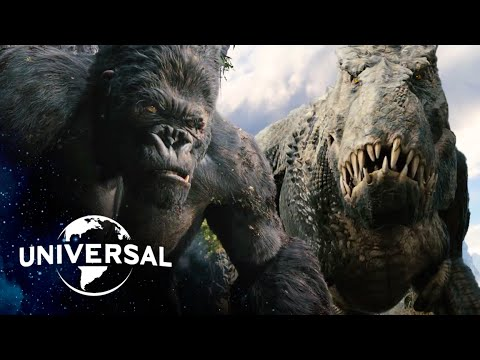 King Kong | V. Rex Fight