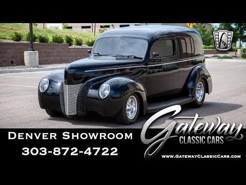 1940 Ford Sedan Delivery - Denver Showroom #566 Gateway Classic Cars
