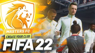 WELCOME TO MASTERS FC 🦁 FIFA 22 CREATE A CLUB CAREER MODE!!! #1