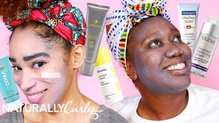 We Put These Sunscreens To The Ashy Test 🌞👻 ft. Glossier, Neutrogena, Unsun & More!