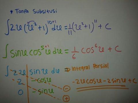 Cara cepat Belajar Integral-Part 1