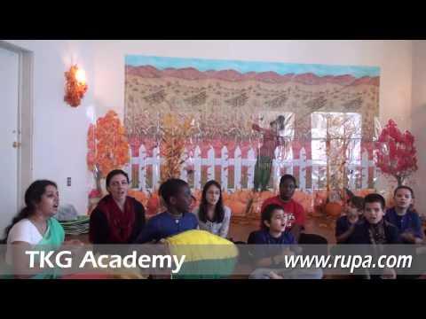 TKG Academy - 1st-8th Grade Bhajan - Thanksgiving Lunch 1/2