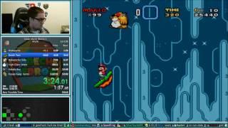 Kaizo Mario World 3 Speedrun 59:02 *World Record*