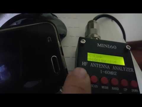 Mini60 Antenna Analyzer