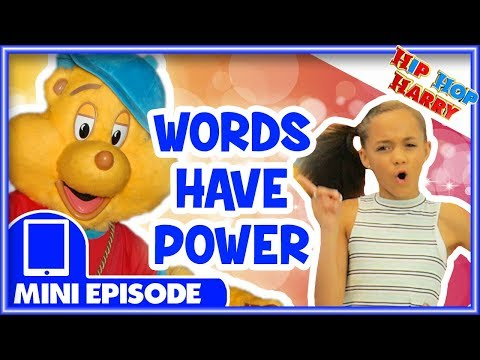 Hip Hop Harry | NEW Mini Episode | The Power of Words