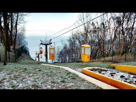 ВЛОГ Едем на электричке в Светлогорск Балтийское море Калининград