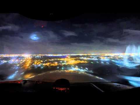 GoPro Night Flight TimeLapse