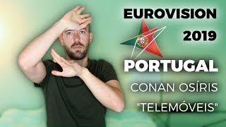 "🇵🇹  Portugal - Conan Osíris ""Telemóveis"" - My reaction (Eurovision 2019)"