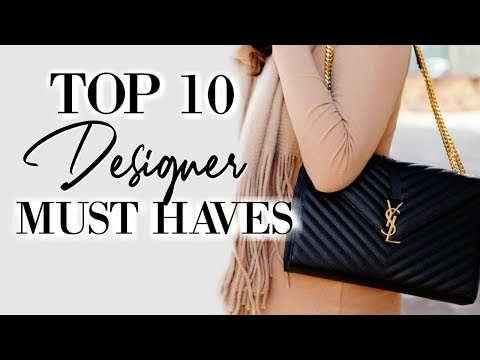 Top 10 Designer Must Haves 2019   Fashion Over 40
